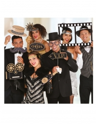 12 Accessoires à photobooth Hollywood années folles