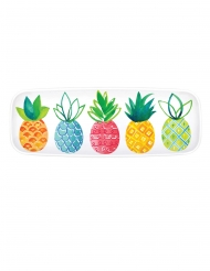 Plateau en plastique summer party 44 x 16 cm