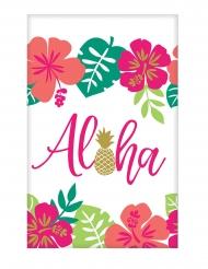 Nappe en papier Aloha chic 137 x 259 cm