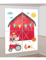12 Accessoires photobooth et décoration murale à la ferme