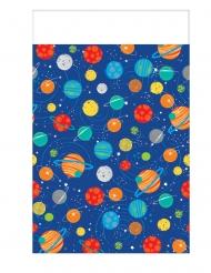 Nappe en plastique voyage dans l'espace 137 x 259 cm