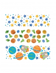 Confettis de table voyage dans l'espace 34g
