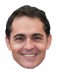 Masque en carton braqueur Pedro Alonso