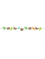 Guirlande en carton paresseux mignon 2,7 m