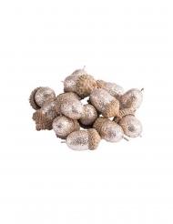 15 Glands paillettes cuivre 3 cm