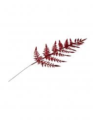 4 Branches fougères paillettes rouges 40 cm