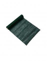 Chemin de table étincelant paillettes vert sapin 28 cm x 3 m