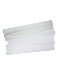 Feuille crépon blanche 2 x 0,50 m