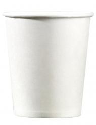 25 Gobelets en carton blanc 200 ml