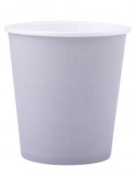 25 Gobelets en carton gris 200 ml