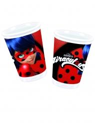 10 Gobelets en plastique Miraculous Ladybug™ 200 ml