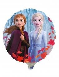 Petit ballon aluminium rond La Reine des Neiges 2™ 23 cm