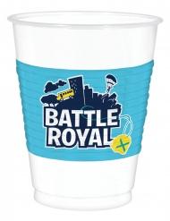 8 Gobelets en plastique battle royale 473 ml