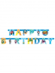Guirlande lettres en papier Happy Birthday Top Wing™ 218 x 12 cm