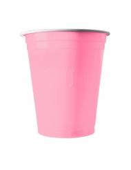 20 Gobelets américains rose pastel 53 cl