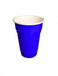 20 Gobelets américains bleus 25 cl