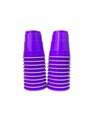 20 Shooters américains violets 4 cl