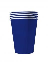 20 Gobelets américains carton recyclable bleus 53 cl