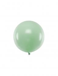 Ballon en latex géant pistache 60 cm