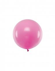 Ballon en latex géant fuchsia 60 cm