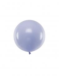 Ballon en latex géant lilas 60 cm