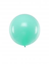 Ballon en latex géant menthe 1 m