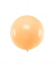 Ballon en latex géant pêche 1 m
