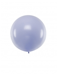 Ballon en latex géant lilas 1 m