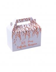 6 Boîtes kit pour enfants heureux rose gold 18,5 x 12 x 10 cm