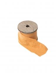 Ruban gaze de coton moutarde 4,5 cm x 3 m