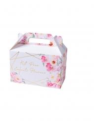 6 Boîtes kit pour enfants heureux aquarelle dorure 18,5 x 17 x 10 cm