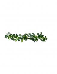 Guirlande pivoines laurier et eucalyptus blanches 1,40 m