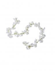 Guirlande de fleurs de cerisier blanches 1,80 m