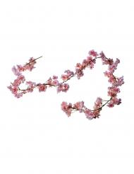 Guirlande de fleurs de cerisier roses 1,80 m