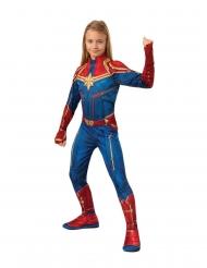 Déguisement classique Captain Marvel™ fille