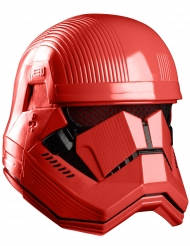 Masque luxe intégral rouge Sith trooper™  adulte