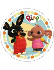 Disque en azyme Bing™ multicolore 21 cm