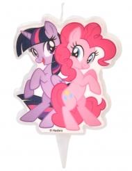 Bougie My Little Pony™ Twilight Sparkle et Pinkie Pie 6,5 cm