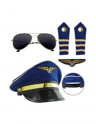 Kit pilote d'avion adulte