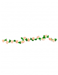 Guirlande de roses roses 220 cm