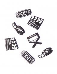16 Confettis de table cinéma 2 à 2,5 cm