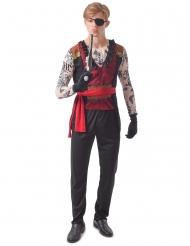 Déguisement pirate tatoué homme