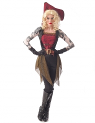 Déguisement pirate tatouée femme