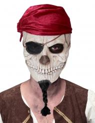 Masque crâne de pirate adulte