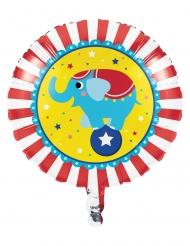 Ballon en aluminium Animaux du cirque 46 cm
