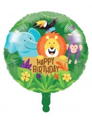 Ballon en aluminium Jungle Safari 46 cm