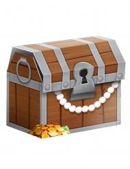 8 Boîtes cadeaux Trésor de pirate 8 x 8 x 6 cm
