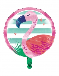 Ballon en aluminium Flamingo Ananas Party 46 cm