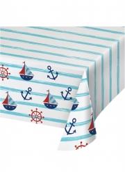 Nappe en plastique Petit bateau 137 x 259 cm