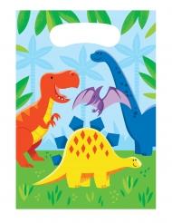 8 Sacs cadeaux Petits Dinosaures 23 x 16 cm